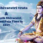 Masik Shivaratri dates and Puja Time